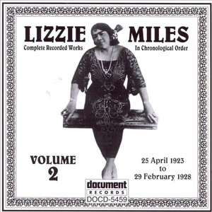 Image for 'Lizzie Miles Vol. 2 (1923-1928)'