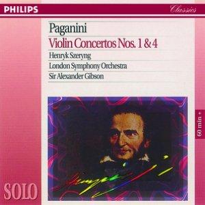 Imagem de 'Paganini: Violin Concertos Nos. 1 & 4'