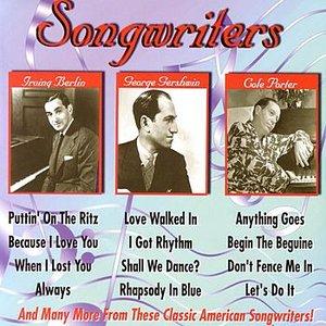 Bild för 'Songwriters - Irving Berlin, George & Ira Gershwin, Cole Porter'