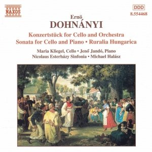 Image for 'DOHNANYI: Konzertstuck for Cello / Cello Sonata / Ruralia Hungarica'
