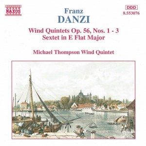 Image for 'DANZI: Wind Quintets, Op. 56, Nos. 1-3 /  Wind Sextet, Op. 10'