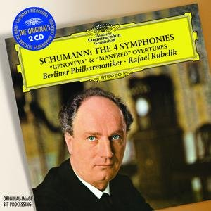 """Image for 'Schumann: The 4 Symphonies; Overtures Opp.81 """"Genoveva"""" & 115 """"Manfred""""'"""