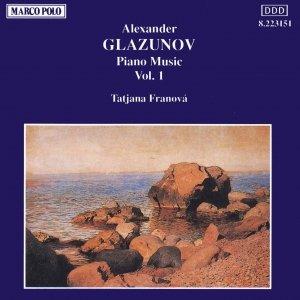 Image for 'GLAZUNOV: Piano Music, Vol.  1'