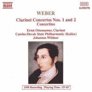 Image for 'WEBER: Clarinet Concertos Nos. 1 and 2'