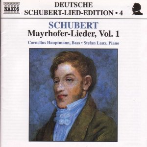 Image for 'SCHUBERT: Lied Edition 4 - Mayrhofer, Vol.  1'