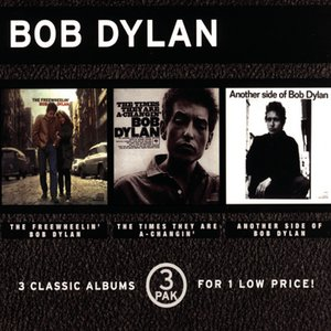 Image for '3 Pak (The Free Wheelin' Bob Dylan/ The Times They Are A-Changin'/ Another Side Of Bob Dylan)'