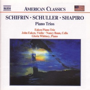 Image for 'SCHIFRIN / SCHULLER / SHAPIRO: Piano Trios'