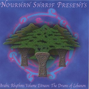 "Image for 'Nourhan Sharif Rhythm CD ""Drums of Lebanon!""'"