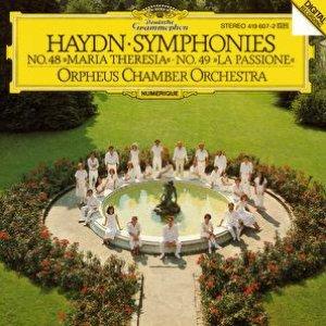 """Bild för 'Haydn: Symphonies Nos. 48 """"Maria Theresia"""" & 49 """"La Passione""""'"""