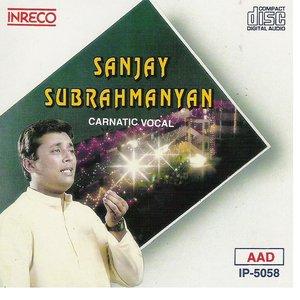 Bild för 'Carnatic Vocal - Sanjay Subrahmanyan'