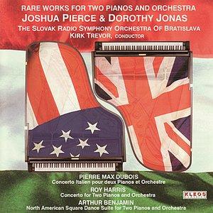 Imagen de 'Joshua Pierce and Dorothy Jonas perform Rare Works for Two Pianos and Orchestra'