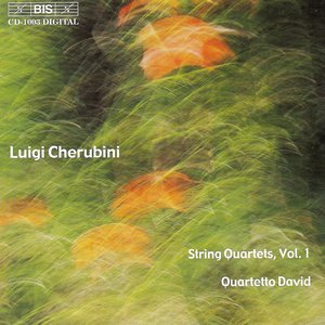 Image for 'Cherubini: String Quartets Nos. 1 in E Flat Major and 2 in C Major'
