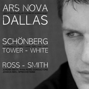 Image for 'Schoenberg, Pierrot Lunaire; Tower, Petroushskates; White, Barn...Burn...Moon (Live) - Jordan Smith, Jessica Abel, Ryan Ross, Ars Nova Dallas, 2009 Dallas Festival of Modern Music'