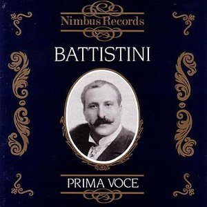 Image for 'Prima Voce: Mattia Battistini'