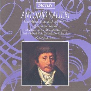 Imagen de 'Ouvertures, Scherzi, Divertimenti (Quartetto Amati)'