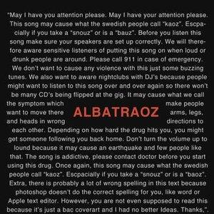 Bild für 'Albatraoz'