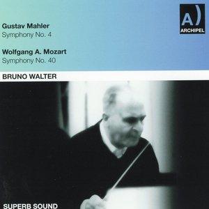 Bild för 'Gustav Mahler: Symphony No. 4 - Wolfgang Amadeus Mozart: Symphony No. 40'