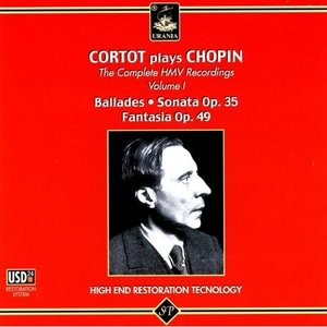 'Cortot Plays Chopin - The Complete HMV Recordings Vol. 1'の画像