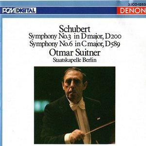 Image for 'Franz Schubert: Symphony No. 3 &  No. 6'
