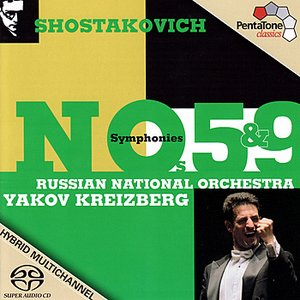 Image for 'SHOSTAKOVICH: Symphonies Nos. 5 and 9'