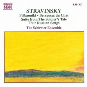Image for 'STRAVINSKY: Chamber Music'