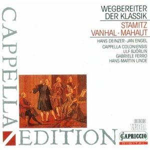 Image for 'Stamitz, C.: Orchestral Quartet in G Major / Stamitz, J.: Clarinet Concerto in B Flat Major / Vanhal, J.B.: Sinfonia in F Major'