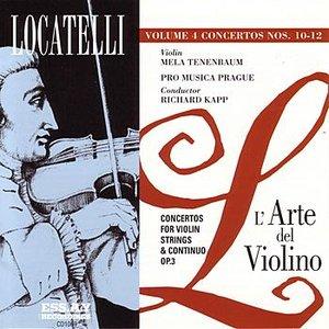 Imagem de 'Locatelli: L'Arte del Violino, Op.3 Vol. 4'