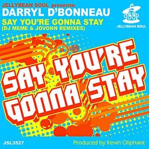 Image pour 'Say You're Gonna Stay (Jovonn Next Moov Club Mix)'