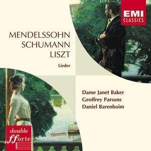 Image for 'Mendelssohn, Schumann & Liszt Lieder'