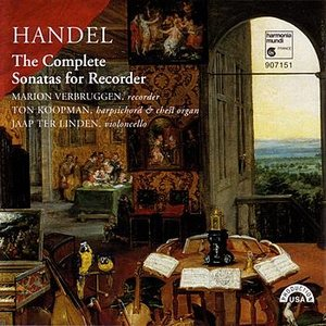 Image for 'Handel: Sonata for Recorder in A minor, op.1, no.4: I. Larghetto'