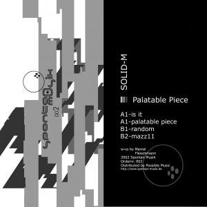 Image for 'Palatable Piece'