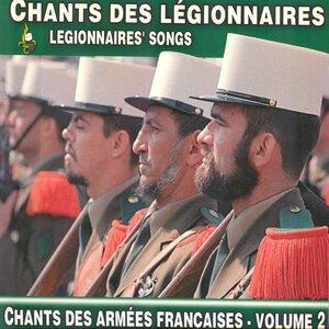 Image pour 'Chants des légionnaires - Legionnaires' Songs (Chants des Armées Françaises, vol. 2)'
