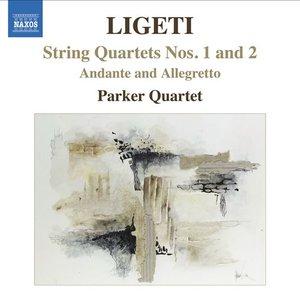 Image for 'String Quartets Nos. 1 and 2, Andante and Allegretto (The Parker Quartet)'