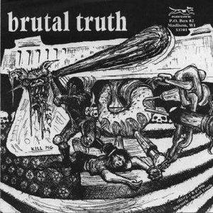 Imagem de 'Brutal Truth & Spazz - Split'