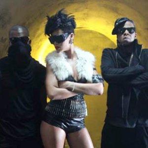 """""""Jay-Z & Rihanna & Kanye West""""的封面"""
