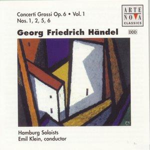 Image for 'Händel: Concerti Grossi Op.6 Vol.1'
