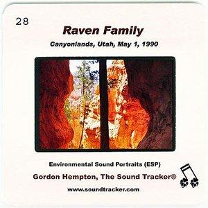 Imagem de 'Raven Family (Canyonlands, Utah, May 1, 1990)'