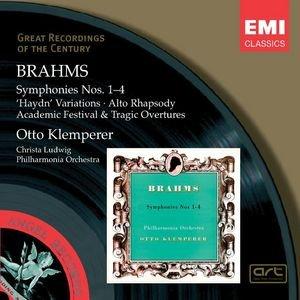 Bild för 'Brahms: Symphonies Nos. 1-4, etc'