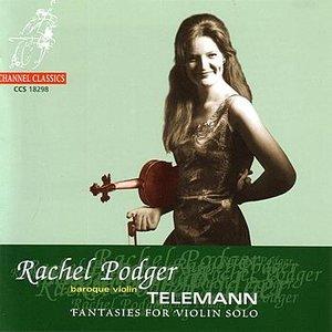 Bild für 'Telemann: Twelve Fantasies for Solo Violin'