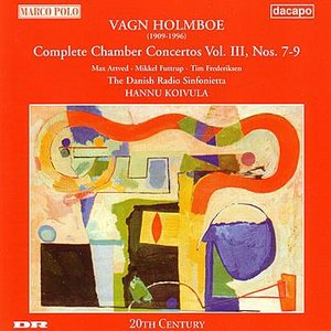 Image for 'HOLMBOE : Chamber Concertos III'