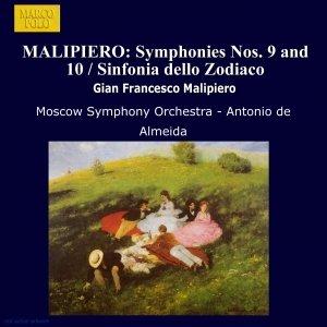Image for 'MALIPIERO: Symphonies Nos. 9 and 10 / Sinfonia dello Zodiaco'