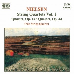Image for 'NIELSEN, C.: String Quartets, Vol.  1'