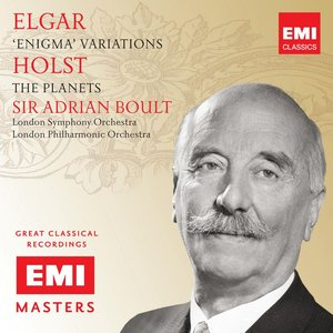 Image for 'Elgar/Holst: Enigma & Planets'