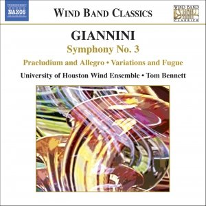Image for 'GIANNINI: Symphony No. 3 / Dedication Overture / Variations and Fugue'