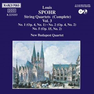 Image for 'SPOHR: String Quartets Nos. 1- 2, Op. 5 and  No. 5, Op. 15'