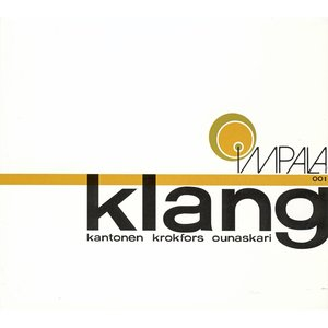 Image for 'Klang - finnish contemporary jazz, vol. 5'