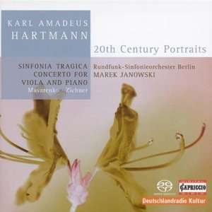 Image for 'Hartmann, K.A.: Sinfonia Tragica / Concerto for Viola and Piano'