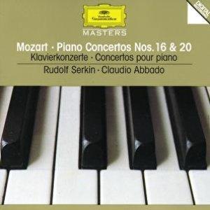 Image for 'Mozart: Piano Concertos Nos.16 & 20'