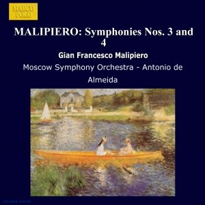 Image for 'MALIPIERO: Symphonies Nos. 3 and 4'