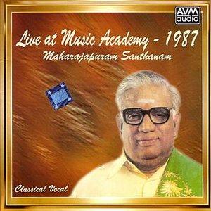 Bild för 'Live At Music Academy 1987 (Maharajapuram Santhanam)'
